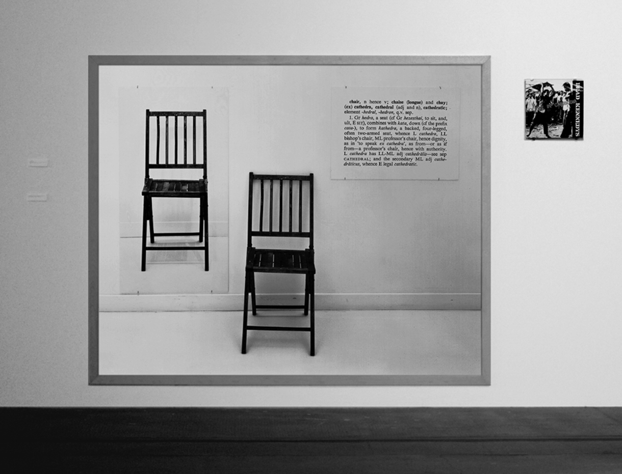 Kosuth Kennedys installation bw 72dpi for website