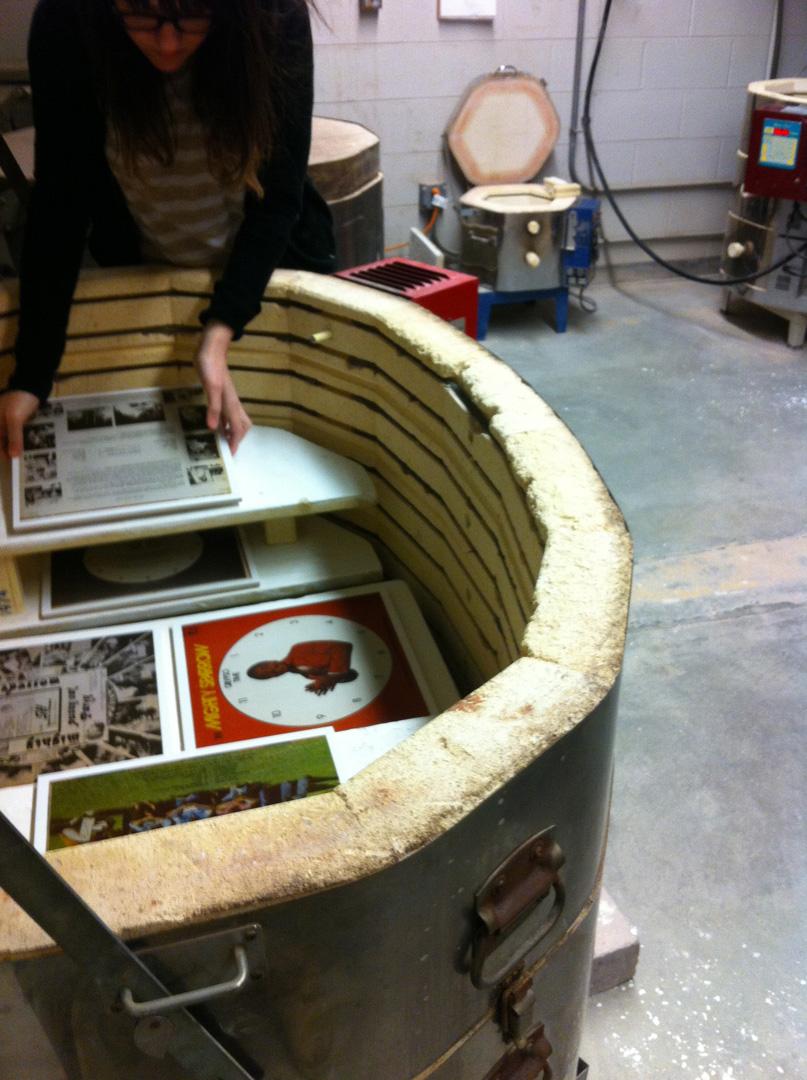 Sparrow-Katie loading kiln